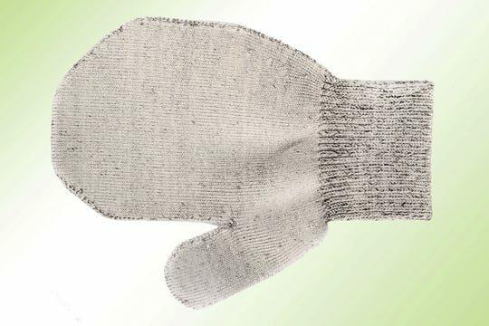 Binamed Zilver Baby Handschoenen met duim