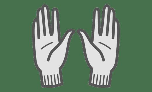 Binamed Zilver Handschoenen
