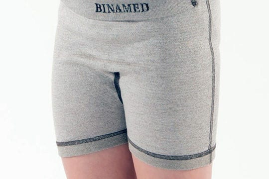 Binamed Zilver Kinder Short