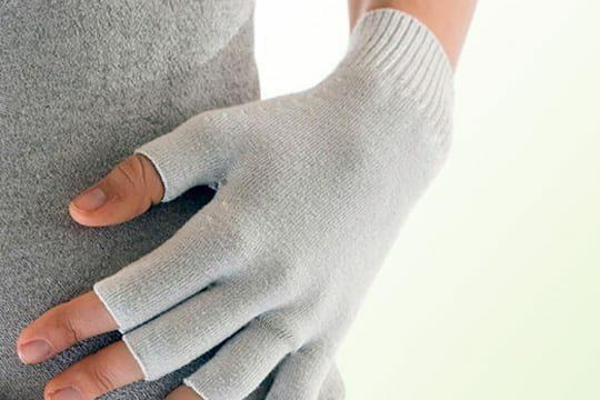 Binamed Zilver Verbandhandschoenen zonder vingers