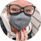 Ervaring van Shirley Visser met het Binamed Mondkapje